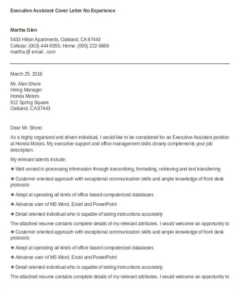 Cover Letter Executive by Executive Assistant Description Executive Assistant Description Template