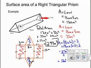 solving for surface area of retangular prisms right
