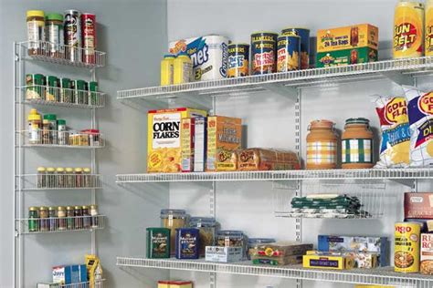 Organizing A Pantry With Wire Shelves by Elite Closets Kitchen Pantry