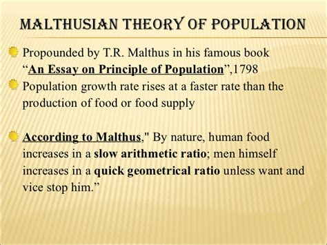 malthus founder of modern demography books comperative study about optimum and malthusian theory of