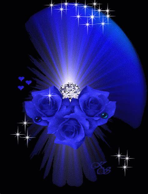 imagenes de rosas azules con brillo y movimiento im 225 genes con movimiento hermosas