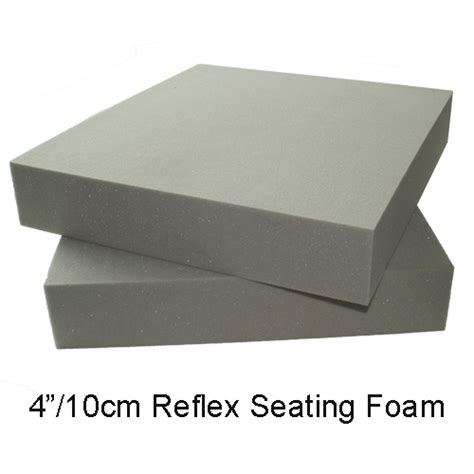thick upholstery foam reflex seating foam 10cm thick