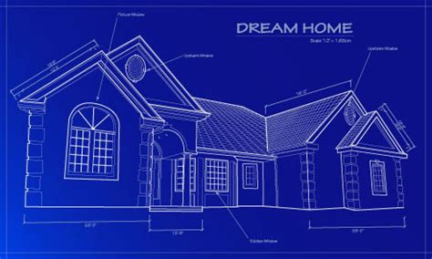 blueprint of house residential home blueprint residential metal building