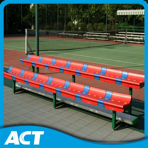 soccer bench seats china outdoor soccer bench team bench with plastic seats