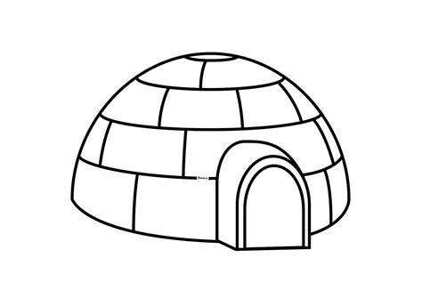 imagenes para colorear iman igloo 60 b 226 timents et architecture coloriages 224 imprimer