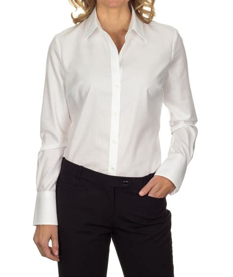 womens dress shirts white dress shirt womens 13ck030 calvin klein womens non