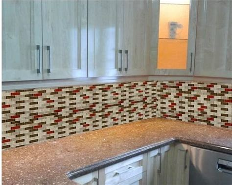kitchen wall backsplash glass mosaic subway tile kitchen backsplash wall tiles zz014