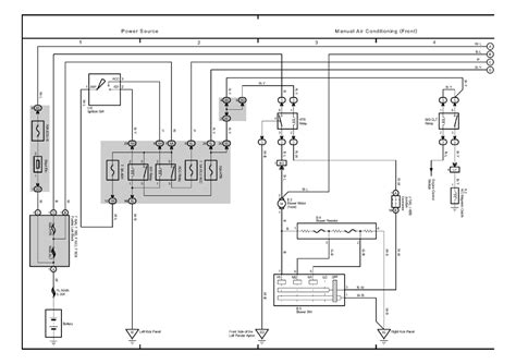 2001 toyota tacoma air conditioning system diagram 2001