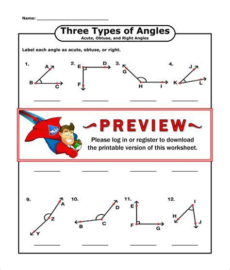 High School Geometry Worksheets by 16 Sle High School Geometry Worksheet Templates Free