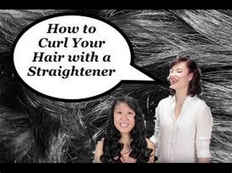 how to curl hair with straighteners flicks how to curl your hair with flat iron the rachel dixon