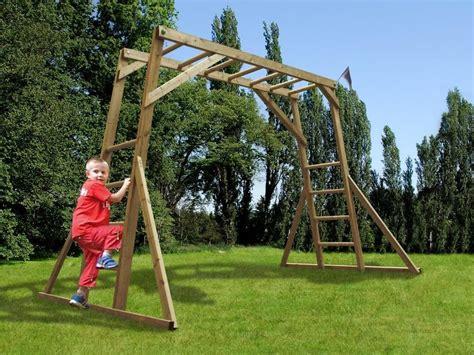 garden swings for 1 year olds monkey bars w3 2m x d1 9m climbing frames