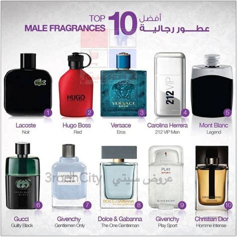 10 Great Perfumes by Top 10 Best Perfumes For Models Picture