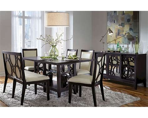 najarian furniture dining room set versailles na ve dset najarian formal dining set w rectangle wood table planet