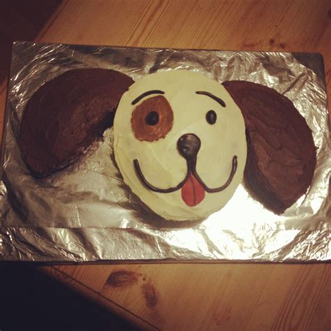 puppy cakes birthday cake chocolate vanilla puppy children s birthday