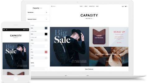web store layout design features create a beautiful online store engaging