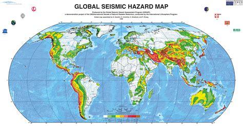 earthquake zones map who feels earthquakes the trembling earth agu blogosphere
