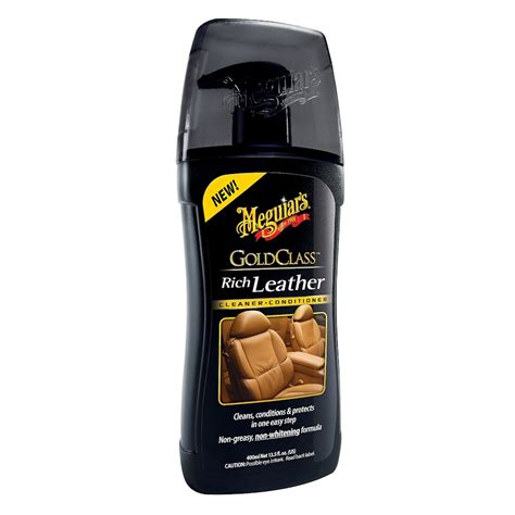 meguiars upholstery cleaner meguiar s gold class rich leather cleaner conditioner