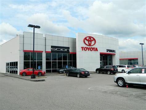 Toyota Dealerships In Alabama Springhill Toyota Car Dealership In Mobile Al 36606