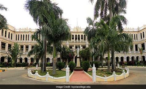 Loyola Chennai Part Time Mba by India Rankings 2017 37 Tamil Nadu Colleges In Top 100