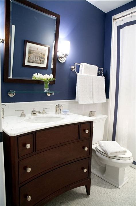 bathroom paint blue 1000 ideas about navy bathroom on pinterest navy