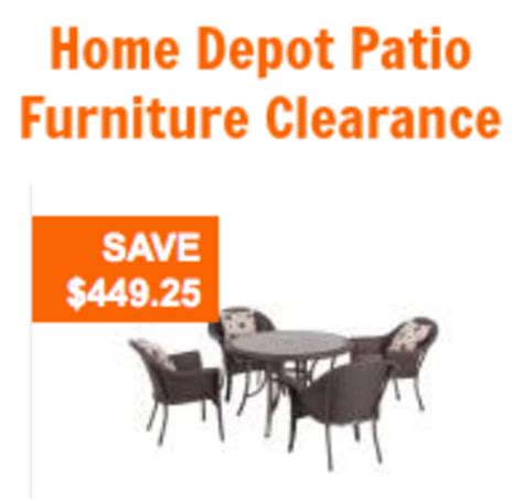clearance patio furniture home depot home depot patio furniture clearance 50 60 hton