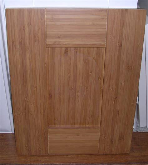 Bamboo Cabinet Doors Bamboo Shaker Door Kitchen Cabinets