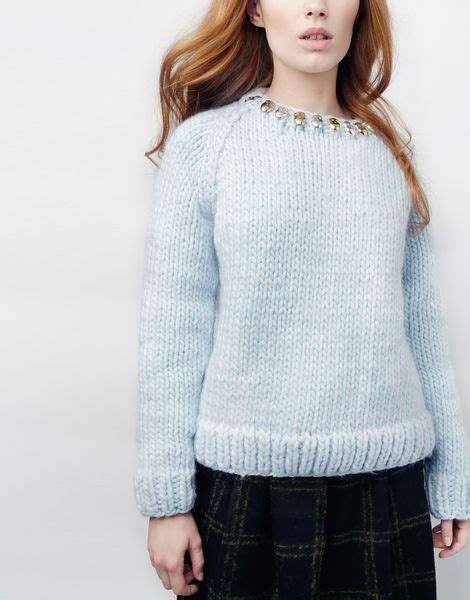 Sugar Sweater wool and the sugar skull sweater in blue lyst