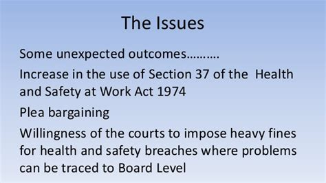 health and safety at work act 1974 section 8 fmp speaker corporate manslaughter 1