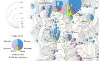 Small Space Design Diagram Maps Cartograms Referring To A Specific Point Or