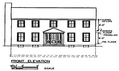 colonial floor plans two story simple colonial house plans colonial two story house plans