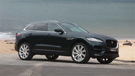 jaguar f pace black jaguar f pace portfolio diesel 2016 review road test