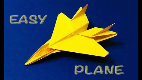 Origami F 15 - origami f 15 jet easy tutorial paper plane f15 flying