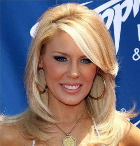haircuts of the women from the housewives of orange county side swept bangs gretchen rossi coif pinterest