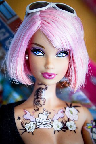 tattooed barbie for sale wallpaper pictures