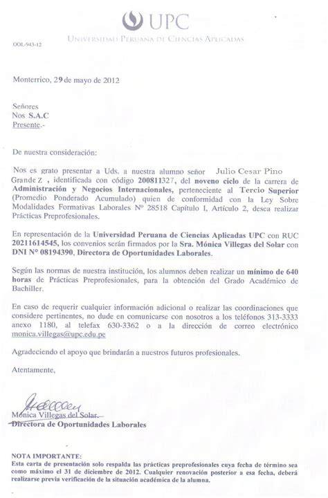 zayeker carta de presentacion portafolio fr julio pino liderazgo julio 2012