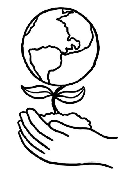 simple earth coloring page 90 earth day drawings on earth day 2017 22 april 2017