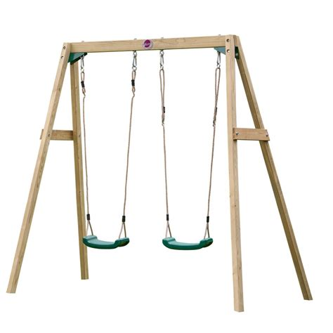 to swing or not to swing wooden double swing set wooden dimensional swing sets