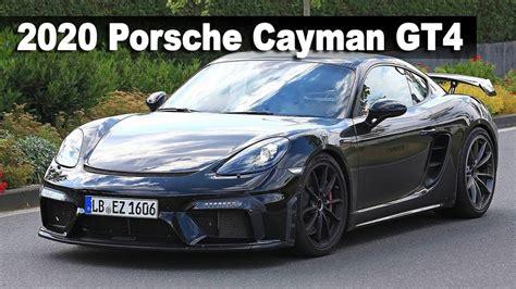 2020 Porsche 718 Cayman by New 2020 Porsche 718 Cayman Gt4 Almost Undisguised