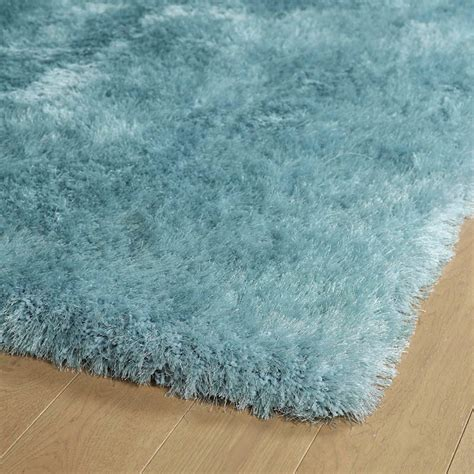 light blue shag rug light blue posh shag rug rosenberryrooms