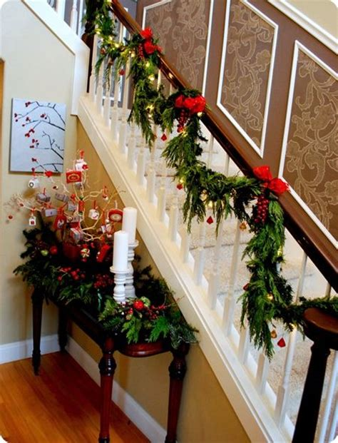 Banister Garland Hangers by 1000 Images About Banister Decor On Banisters