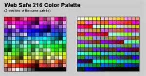 web safe color blaf guidelines color palette and color usage
