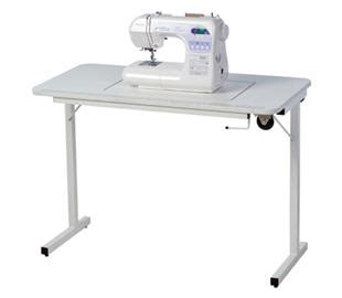 fold away sewing machine table horn fold away table by horn furniture in sewing machine