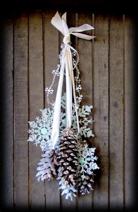 diy decorations pine cones 30 festive diy pine cone decorating ideas hative