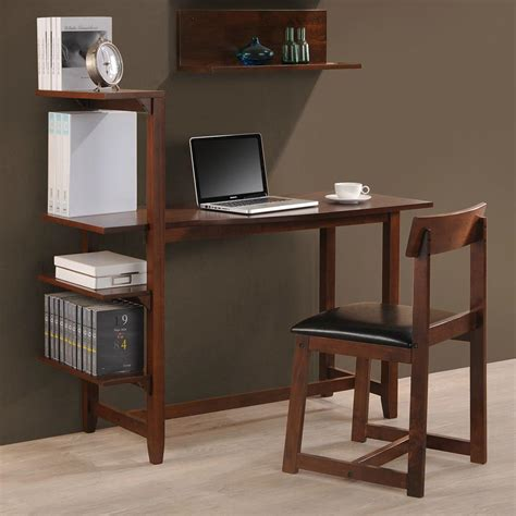 small desk with bookshelf 4 tier bookshelf small writing desk with shelves wd 4069