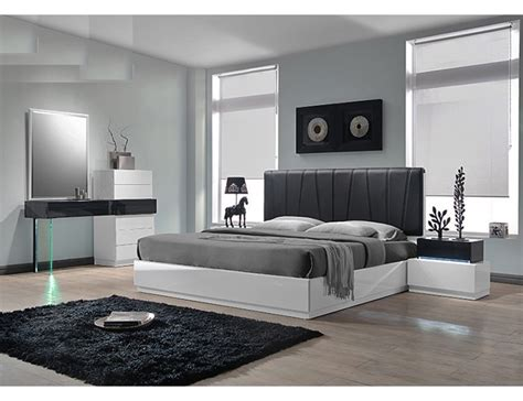 moda modern platform bedroom set ireland modern platform bed collection