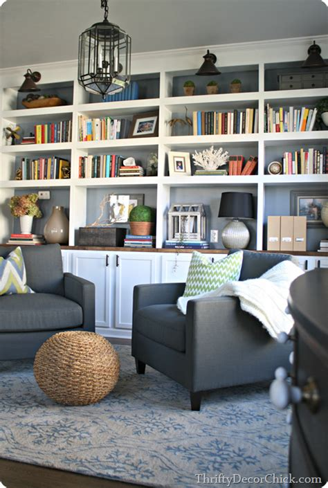 Dining Room Into A Library Dining Room Turned Library Finally From Thrifty Decor