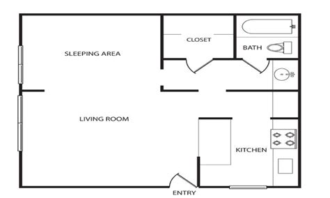Floor Plan For 600 Sq Ft Apartment | 600 sq ft studio 600 sq ft apartment floor plan 600