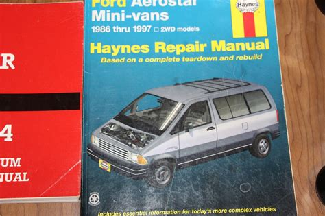 online car repair manuals free 1997 ford aerostar on board diagnostic system service manual auto repair manual online 1994 ford aerostar navigation system 1994 ford