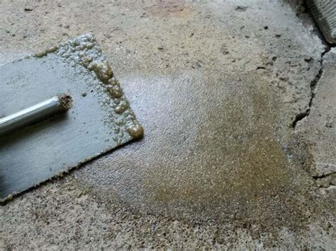 Easily Repair Your Pitted or Spalled Garage Floor   All