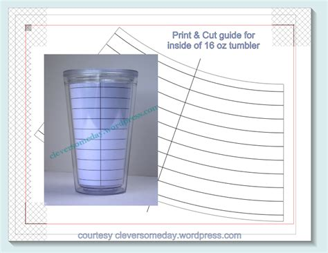 printable vinyl on tumblers tumbler template freebie